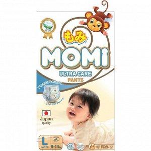 Подгузники-трусики MOMI Ultra Care, L (9-14 кг), 44 шт