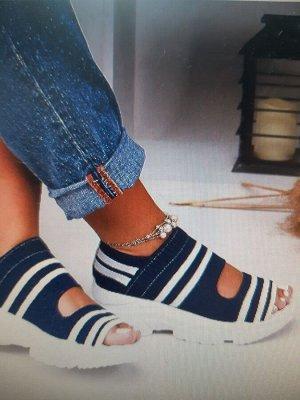 Летние туфли-полукроссовки. Фото внутри !