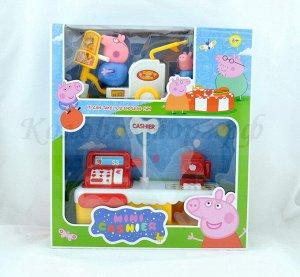 Peppa Pig-Свинка Пеппи Касса-2 героя (№TM8003)