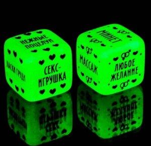 Эротический набор «Во власти страсти», маска, 2 кубика, фанты