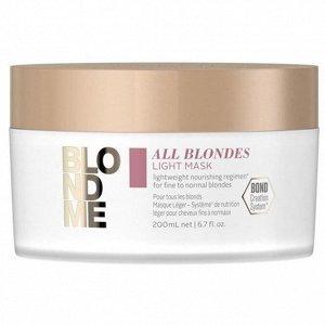 Blondme Маска для тонких волос All Blondes Light Mask 200 мл
