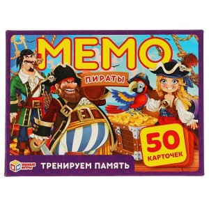 Настольная игра УМка Умные игры Карточная игра Мемо Пираты8