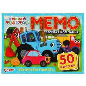 Настольная игра УМка Умные игры Карточная игра Мемо Синий трактор8