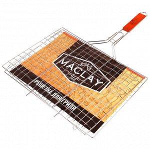 Решетка-гриль 40*60*2см Lux для мяса Maclay