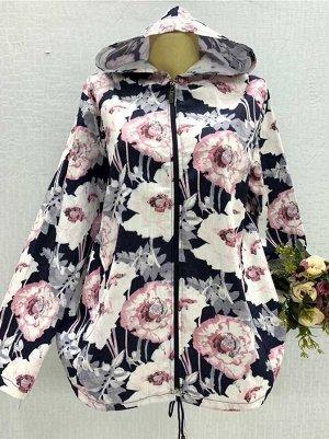 Ветровка женская Ткань Джинса