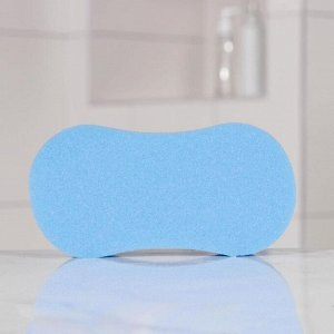 Губка банная восьмёрка PRIDE «Настроение», 19?10?6 см, цвет МИКС