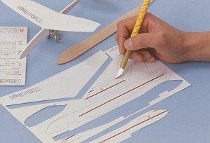 Нож OLFA с перовым лезвием