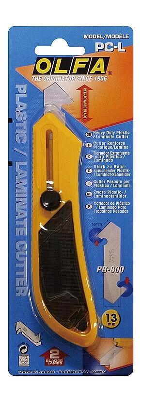 Набор OLFA Резак для пластика усиленный с 3-мя лезвиями PC-L