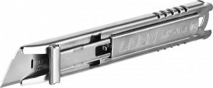 Нож OLFA Нож OLFA, безопасный с трапециевидным лезвием  Нож безопасный с трапециевидным лезвием OLFA OL-SK-12, предназначен для резки бумаги, картона, упаковочной пленки.  ХАРАКТЕРИСТИКИ OLFA OL-SK-12