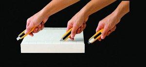 """Нож OLFA """"Hobby Craft Models"""" безопасный с выдвижной системой защиты"""