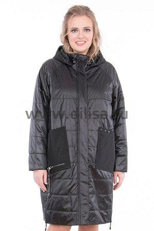 Пальто Пальто Mishele 661-1_Р (Черный FQ24)  Артикул: 661-1_Р; Бренд: Mishele; Сезонность: Демисезон; Цвет: Черный; Оттенок: Черный FQ24; Мех: Нет; Утеплитель: СинтепонПальто Mishele  Состав:полиэст