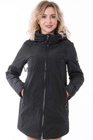Куртки Куртка Towmy 7012_P (Черный 001)  Артикул: 7012_P; Бренд: Towmy; Сезонность: Демисезон; Цвет: Черный; Оттенок: Черный 001; Мех: Нет; Утеплитель: СинтепонКуртка Towmy  Состав: полиэстер 100% Нап