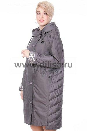 Пальто Пальто Mishele 764-1_Р (Графит FC25)  Артикул: 764-1_Р; Бренд: Mishele; Сезонность: Демисезон; Цвет: Темно-серый; Оттенок: Графит FC25; Мех: Нет; Утеплитель: СинтепонПальто Mishele  Верх и подк