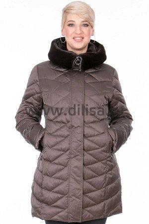 Куртки Куртка Plist 9815_Р (Кофе 1707-23)  Артикул: 9815_Р; Бренд: Plist; Сезонность: Зима; Цвет: Коричневый; Оттенок: Кофе 1707-23; Мех: Есть; Утеплитель: ФайбертекКуртка Plist  Состав: полиэстер 100