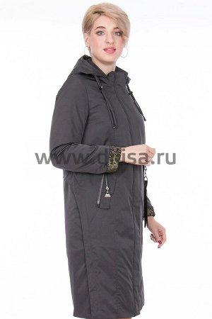 Пальто Пальто Mishele 777-1_Р (Графит PK25)  Артикул: 777-1_Р; Бренд: Mishele; Сезонность: Демисезон; Цвет: Темно-серый; Оттенок: Графит PK25; Мех: Нет; Утеплитель: СинтепонПальто Mishele  Верх и подк