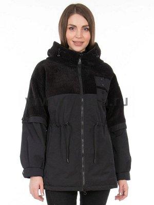 Куртки Куртка T.YCamille 565_Р (Черный 1)  Артикул: 565_Р; Бренд: T.YCamille; Сезонность: Демисезон; Цвет: Черный; Оттенок: Черный 1; Мех: Нет; Утеплитель: СинтепонКуртка T.YCamille  Длина по спинке в
