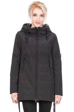 Куртки Куртка Towmy 6078_Р (Черный 001)  Артикул: 6078_Р; Бренд: Towmy; Сезонность: Демисезон; Цвет: Черный; Оттенок: Черный 001; Мех: Нет; Утеплитель: СинтепонКуртка Towmy  Верх 1: полиэстер 100% Вер