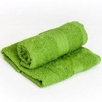 Полотенце махровое 70х140 зеленое
