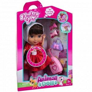 Кукла Kaibibi-animal Кошечка 30см на батарейках6
