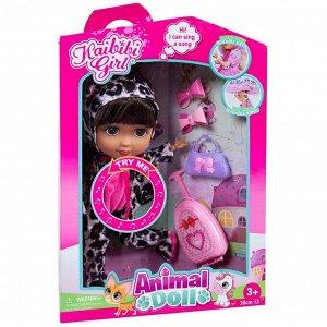 Кукла Kaibibi-animal Леопард 30см на батарейках6