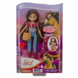 Кукла Mattel Spirit кукла Лаки с дополнительным нарядом4