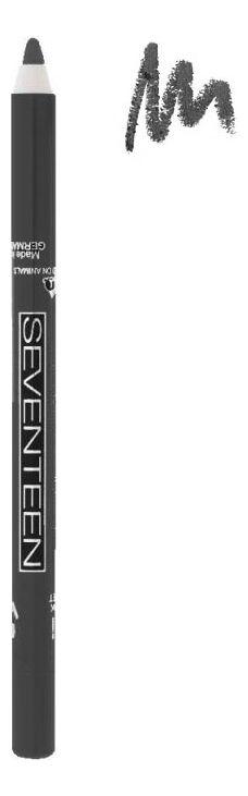 """Seventeen Карандаш д/век водостойкий с витамином Е """"Super Smooth W/P&Longstay"""" т.11 стальной *"""