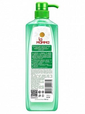 Средство для мытья посуды, овощей и фруктов с ароматом зеленого чая. 780мл.