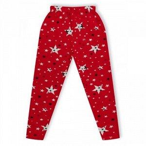 Леггинсы Звезды Красный