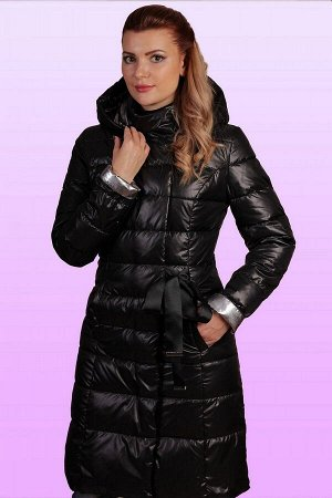 Черный Пальто полуприлегающего силуэта классической длины-очень популярная вещь у современных женщин. Мы предлагаем вам в этом сезоне пальто с несложными конструктивными линиями (рельефы на переде и с