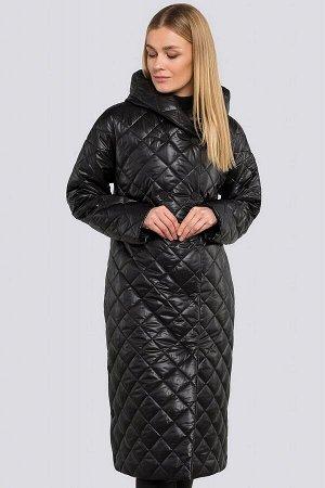 Черный Стеганое пальто прекрасно подойдет на весну, отлично дополнит образ в любом стиле и разнообразит твой привычный гардероб. Приобретая такое пальто, можно быть спокойной, что в прохладный весенни