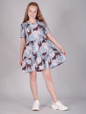 Платье ПЛ-323-жирафы