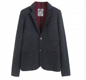 Пиджак, темно-серый