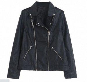 Куртка из иск. кожи