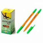 """Ручка шариковая 1.0мм """"51"""" синяя, шестигранный, оранжевый корпус AL51 Alingar {Китай}"""