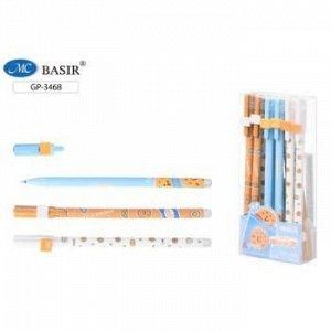 """Ручка гелевая """"Пиши-стирай"""" синяя 0.5 мм """"ДЕСЕРТЫ"""" GP-3468D Basir {Китай}"""