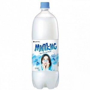 Милкис 1,5л  напиток безалкогольный газ.