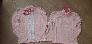 Блуза школьная рост 146 см НОВАЯ