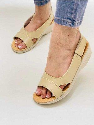 Тапочки-сандали женские
