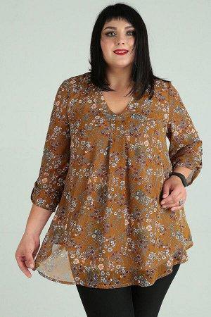 Блуза Блуза Novella Sharm 3609  Состав: ПЭ-100%; Сезон: Осень-Зима Рост: 170  Шифон это удивительно красивый, практически невесомый материал. На его основе разработана актуальная, элегантная блузка.