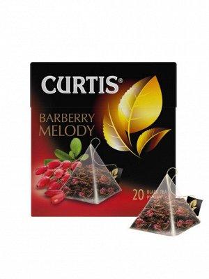 Чай Curtis Barberry Melody (Барбарисовая Мелодия) черный 20пир