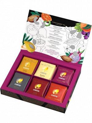 Чай Curtis Dessert Tea Collection (Десерт Ти Колекшн), ассорти, сашет