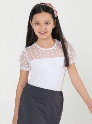 Джемпер для девочки 6278020 белый