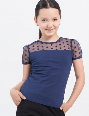 Джемпер для девочки 6278041 синий
