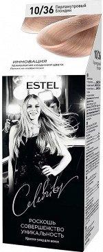 """10/36 краска-уход для волос """"ESTEL CELEBRITY"""", тон перламутровый блондин"""