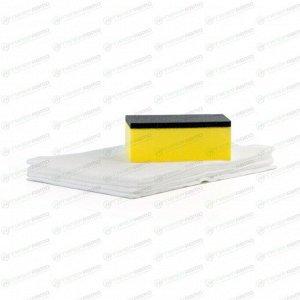 Защитное покрытие кузова (жидкое стекло) Soft 99 Black Parts One, на силиконовой основе, для неокрашенных пластиковых поверхностей, придаёт блеск, флакон 40+8мл (+салфетка и губка), арт. 03134