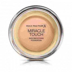 .Макс  Фактор   крем-пудра MIRACLE TOUCH  №45 warm Almond