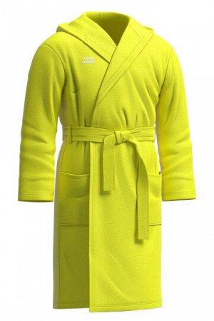 Желтый Состав: Микрофибра - 100% Халат Cuddly с капюшоном, двумя карманами и поясом изготовлен из качественного и приятного к телу материала – микрофибры. Данный материал уникален тем, что не оставляе