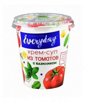 Крем-суп EVERYDAY из томатов с базиликом т/с 36 гр
