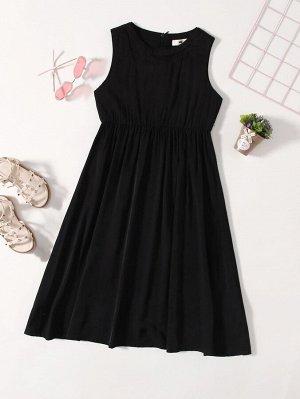 Платье миди для девочек