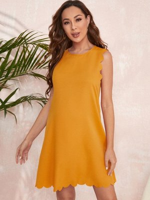 Платье с застежкой сзади для беременных